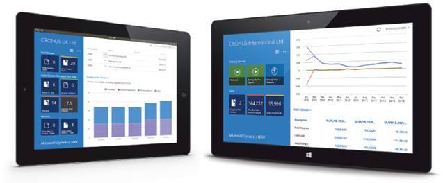 Aplikacja na tablet w Dynamics NAV 2015